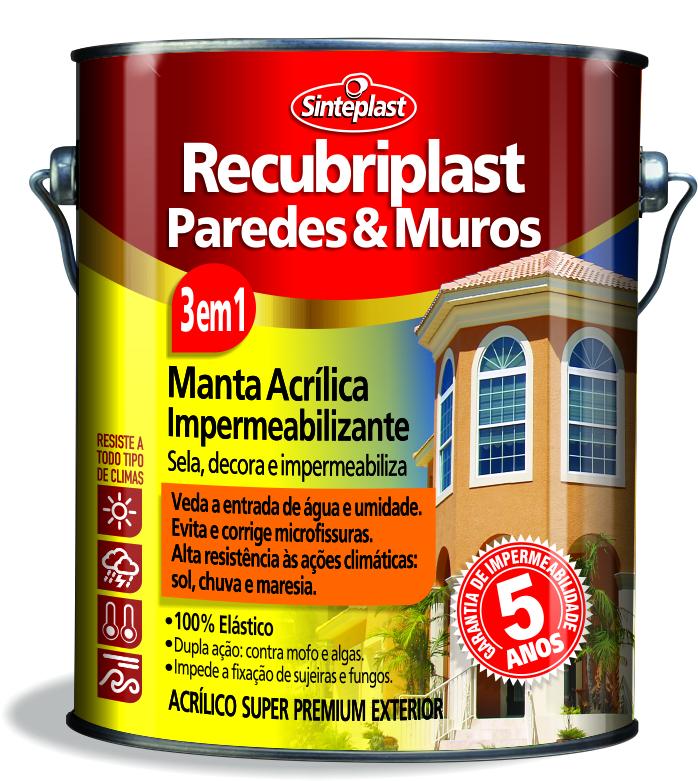 Sinteplast linhas de produtos impermeabilizantes verticais - Impermeabilizante para paredes ...